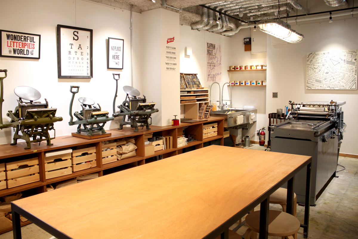 LETTERPRESS SHARE WORKSPACE
